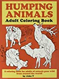 Humping Animals Adult Coloring Book:...