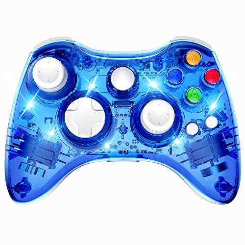 PAWHITS Wireless Xbox 360 Controller Double
