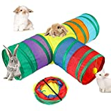 BWOGUE Bunny Tunnels & Tubes Collapsible...