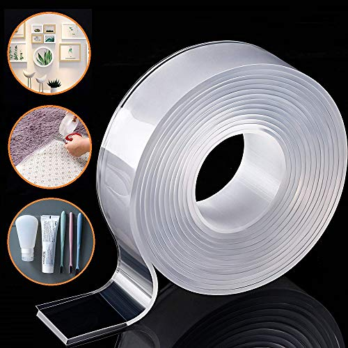 Removable&Traceless Adhesive Nano Gel Tape