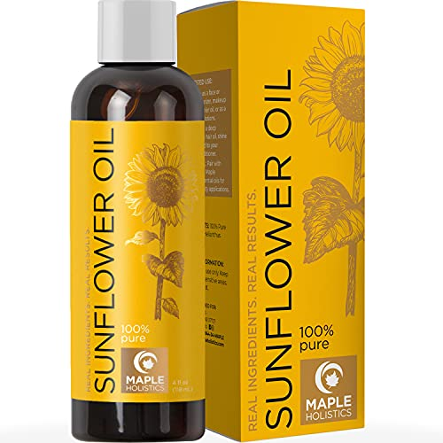 Sunflower Oil for Hair Skin and Nails