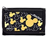 Disney Mickey Mouse Black Gold Trifold...