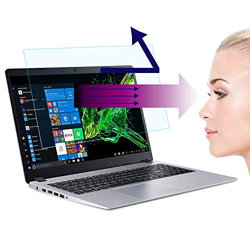2-Pack Laptop Screen 15.6 Inch Anti Blue Light and Anti Glare Filter Screen Protector