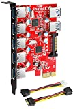 Inateck Superspeed 7 Ports PCI-E to USB...