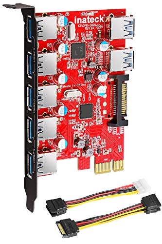 Inateck Superspeed 7 Ports PCI-E to USB 3.0