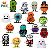 HOOJO16 Pack Halloween Wind-up Toys for...