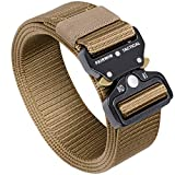 FAIRWIN Tactical Belt, Military Style...
