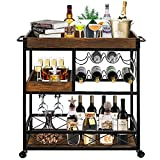 IVANE Bar Cart Serving for The Home,...