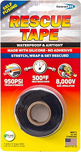 Rescue Tape | Self-Fusing Silicone Tape | Emergency Pipe