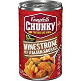 Campbell's Chunky Soup, Minestrone Soup...