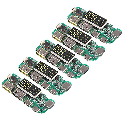 AITRIP 5pcs 18650 Battery Charger Protection