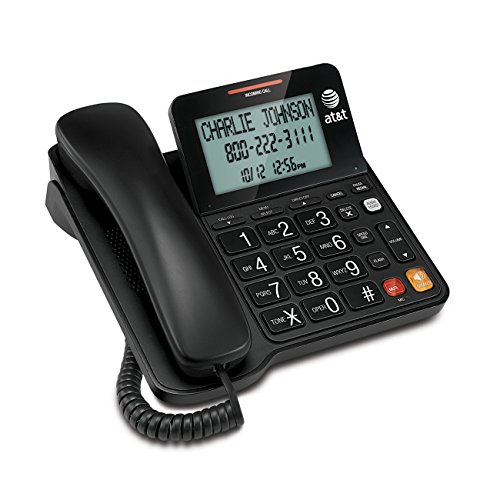 AT&T CL2940 Corded Phone with Caller ID/Call waiting, Speakerphone