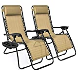 Best Choice Products Set of 2 Adjustable...