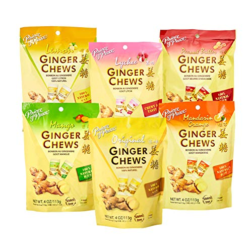 Prince of Peace Ginger Chews Candy Bundle