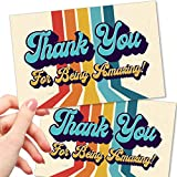 50 Thank You For Being Amazing Postcards...