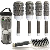 Round Brush Set for Blow Drying, with...