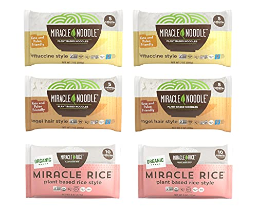 Miracle Noodle Pasta & Rice Variety Pack