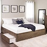 King Select 4-Post Platform Bed with 4...