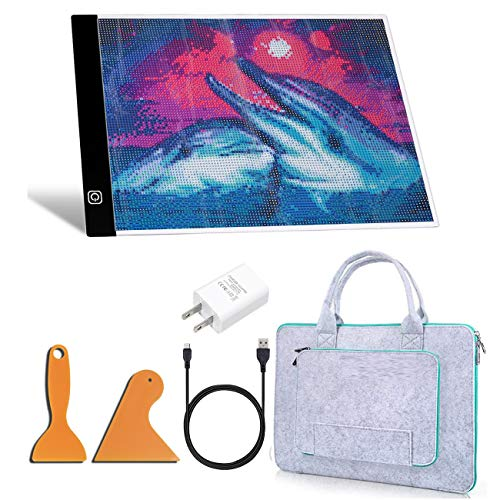 A4 LED Light Pad for Diamond Painting