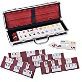 Rummy 106 Tiles Large Rummy with 4...