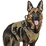 rabbitgoo Tactical Dog Harness for Large...
