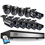 ZOSI 16CH 1080P Security Camera System...