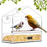VIVOHOME Acrylic Squirrel Proof Clear...