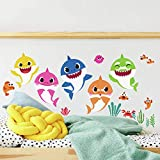 RoomMates RMK4303SCS Baby Shark Peel and...