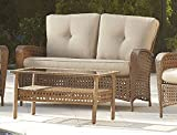 Cosco Outdoor Loveseat and Coffee Table,...