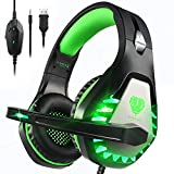 Pacrate Gaming Headset with Microphone...