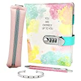 Life is a Doodle Girls Diary with Lock -...