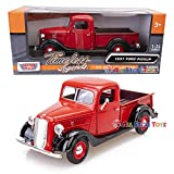 1937 Ford Pick Up Truck, Red With Black...