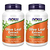 Now Foods Olive Leaf Extract 500mg...