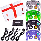 4 Pack Gamecube Controller Bundle - with...