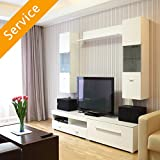 TV Stand or Media Storage Assembly -...