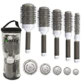Round Brush Set for Blow Drying Curling,...