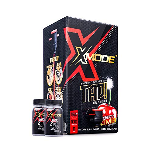 XMODE Extra Strength Energy Shots on Tap