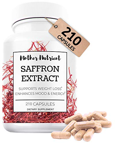 High-Quality Saffron Extract Contains 210 Capsules