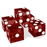 Set of 5 Grade AAA 19mm Casino Dice with...
