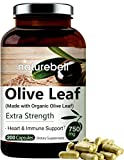 Olive Leaf Extract 750mg, 200 Capsules,...