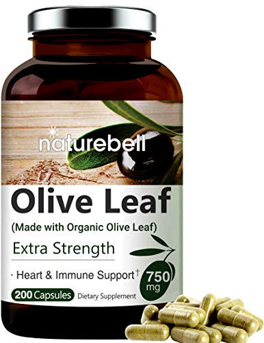 Olive Leaf Extract 750mg, 200 Capsules