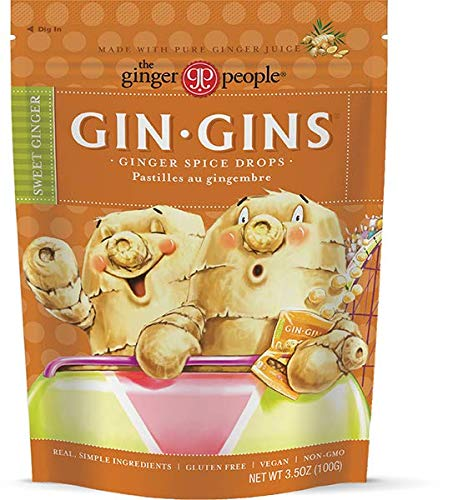 The Ginger People Gin Gins Drops, Ginger Spice