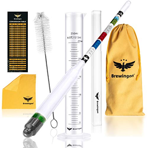 Hydrometer Alcohol - Brewing Tool for Making Beer, Wine