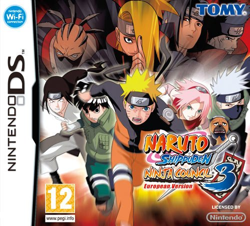 DS - Naruto Shippuden Ninja Council 3