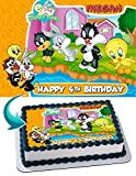 Cakecery Baby Looney Tunes Edible Cake...