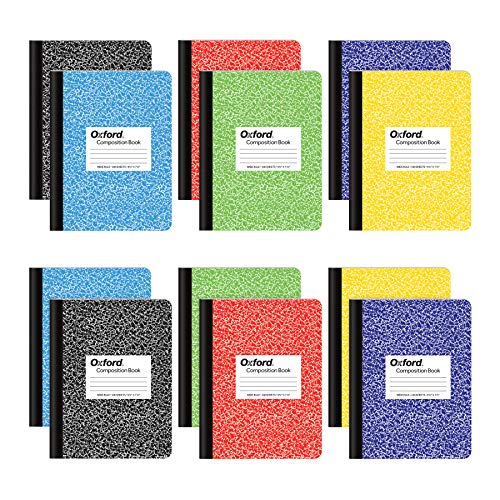 Oxford Composition Notebooks, Wide Ruled Paper