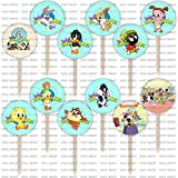 Baby Looney Tunes Cupcake Toppers