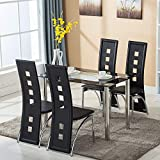 mecor Dining Room Table Set, 5 Piece...