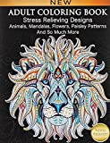 Adult Coloring Book : Stress Relieving...