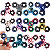 Cool Tri Fidgets Spinners 12 Pack Toys,...